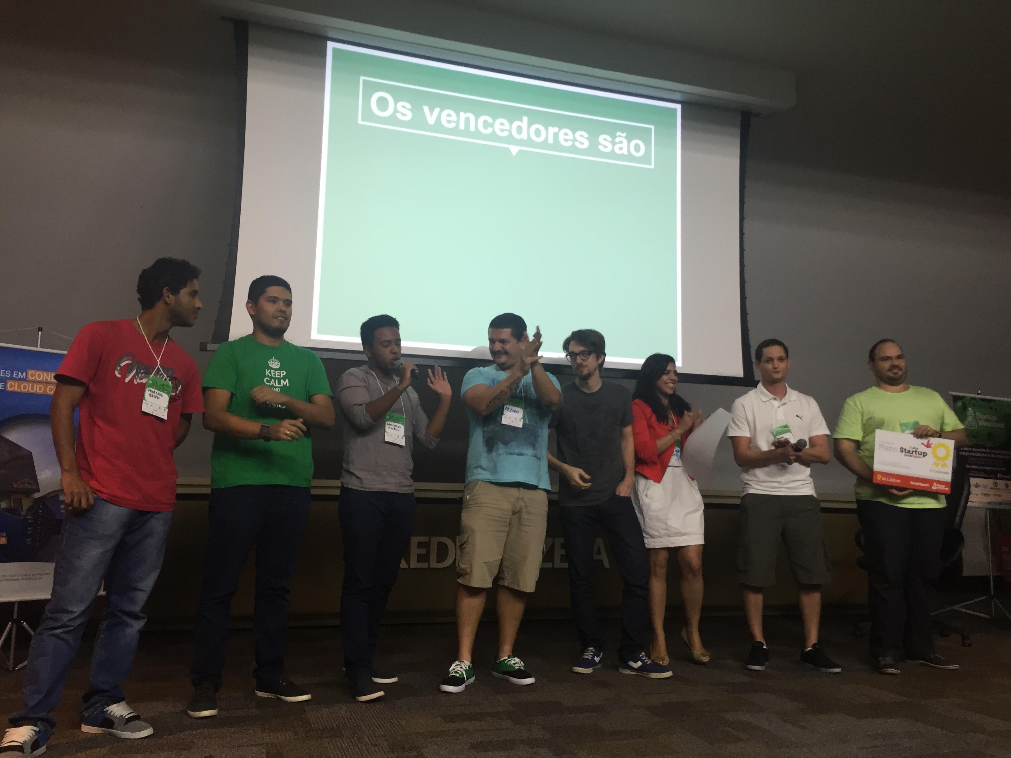 Startup Weekend Vitória, minha 24a participação no SW!