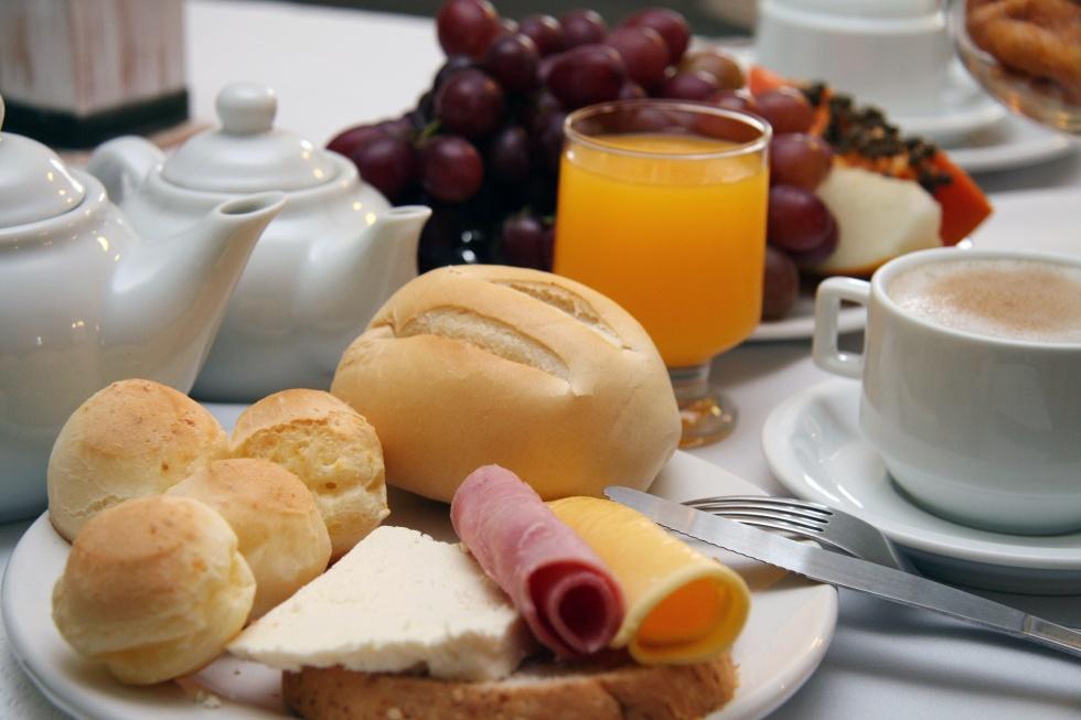 """Um café da manhã, eu diria, """"Disruptivo"""" para quem me convidou!"""