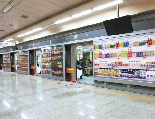 Supermercado novas tecnologias